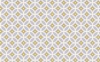 Yellow Mustard Wallpaper 08 0f 20 with White Grey Mustard Circles Pattern