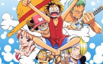 One Piece Wallpaper - The 6 Straw Hat Pirates Crew