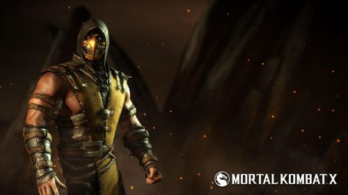 Pictures Of Scorpion From Mortal Kombat as Playstation 4 Character
