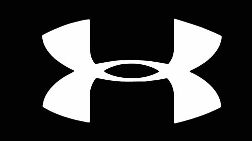 Cool Under Armour Wallpapers in White Logo on Black Background