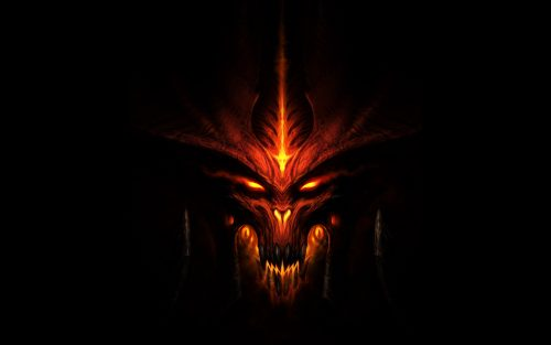 Devil images with dark background