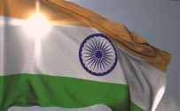 Indian Flag Wallpaper HD with Fluttering Tiranga for Independence Day Celebration