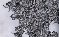 Abstract Art Using Pencil 10 0f 10 with Creative Art