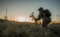 Badass Hunting Wallpaper with Hoyt Bow