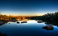 Beautiful Nature Wallpaper Big Size #15 with Long Exposure Photo of Bridge on River