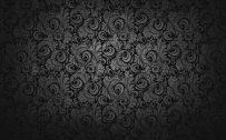 Black dark Floral Wallpaper for Desktop Background and Walls