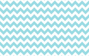 White and Blue Zig Zag Wallpaper