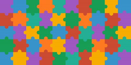 Colorful Abstract Art Jigsaw Puzzles for Wallpaper