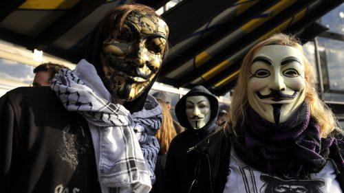Custom Anonymous Mask