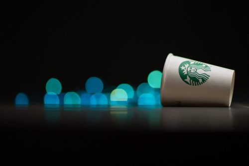 Cute Starbucks Wallpaper in Close Up