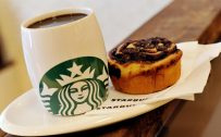 Cute Starbucks and Cake in HD 1080p