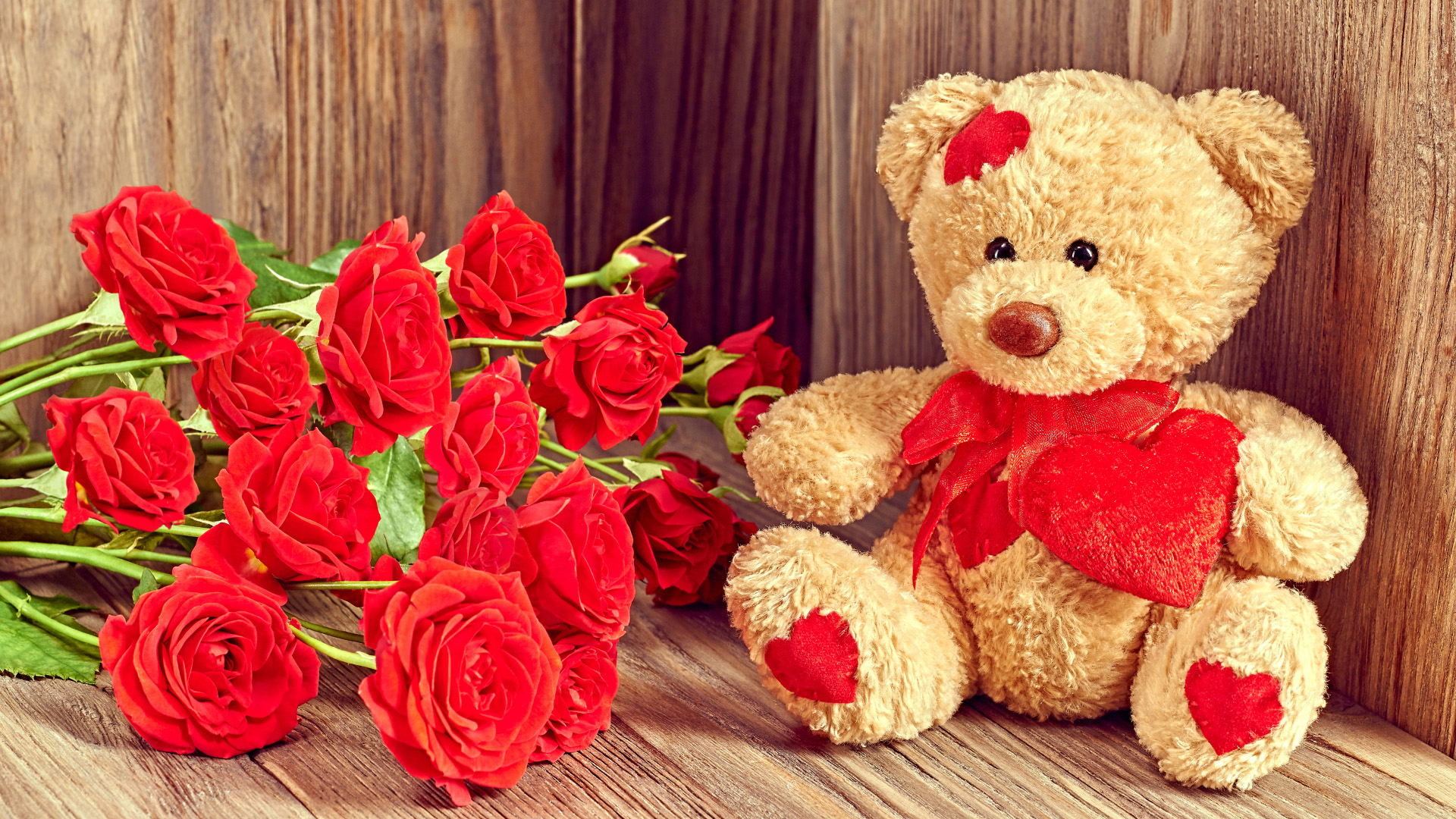 Cute And Romantic Wallpaper With Teddy Bear Images