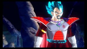 Dragon Ball Z King Vegeta in SSGSS