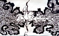 Examples Of Abstract Art Drawings in Complex Design