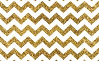 Gold Glitter Zig Zag Wallpaper