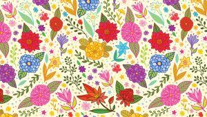 Large Floral Wallpaper Patterns