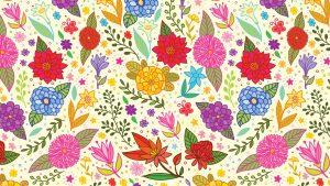 Large Floral Wallpaper Patterns
