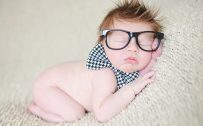 Newborn Baby Boy Portrait Pictures for Wallpaper