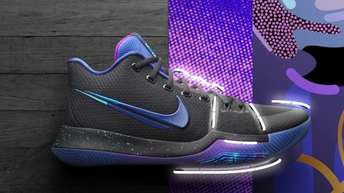 basketball shoes wallpaper  Nike Shoe Wallpaper with Nike Kyrie 3 Flip the Switch for Basketball ...