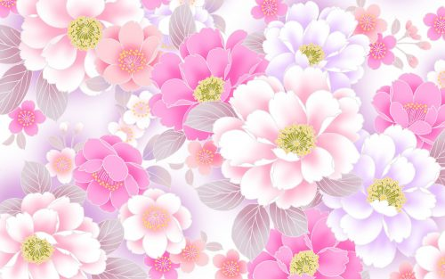Pink Floral Wallpaper Designs