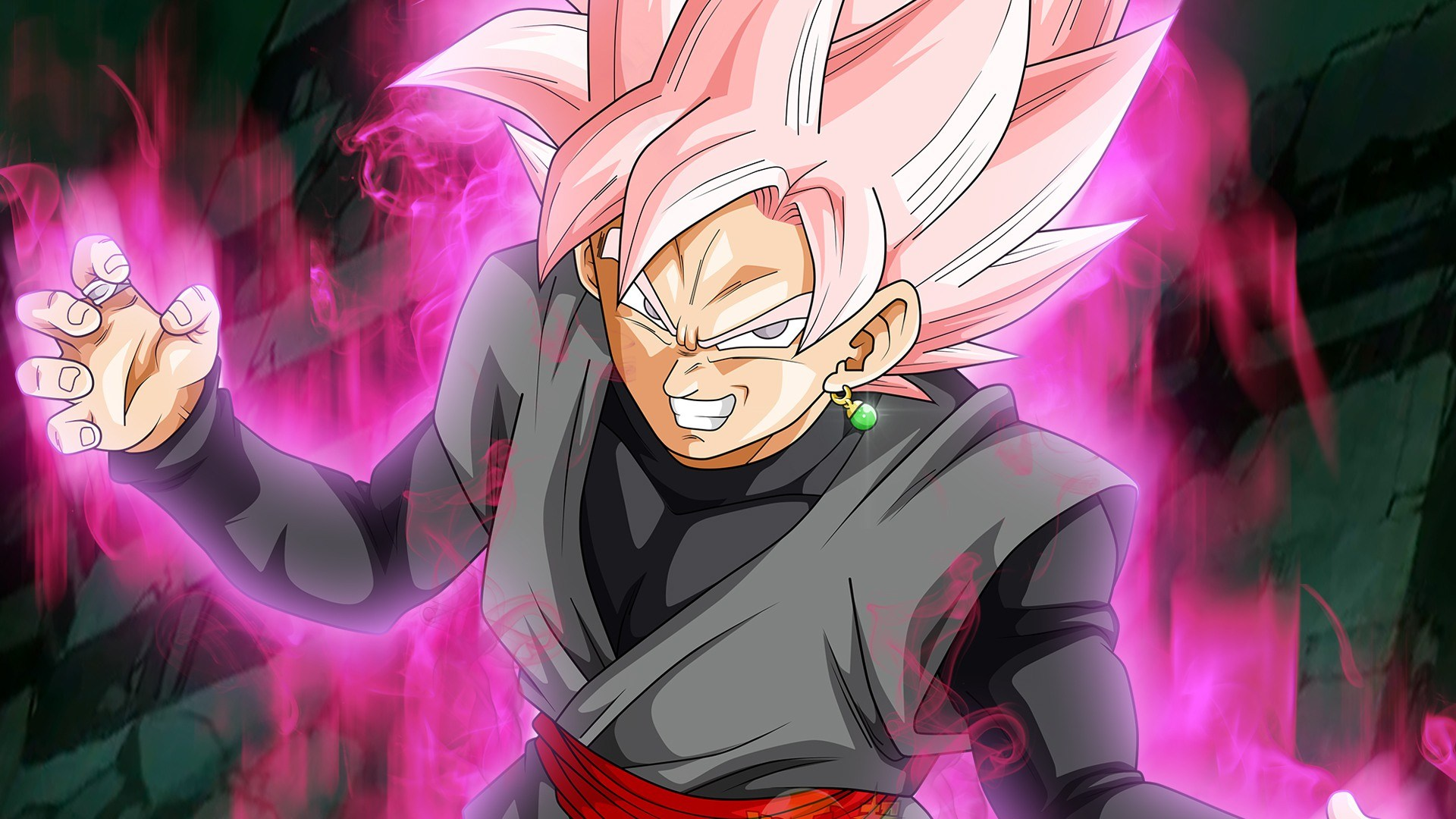Super Saiyan Rose Goku Black Wallpaper: Goku Black Super Saiyan Rose
