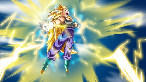 Dragon Ball Wallpaper 9 Of 49 With Vegeta Super Saiyan 3 Final Flash
