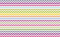 Zig Zag Wallpaper with White and Various Color