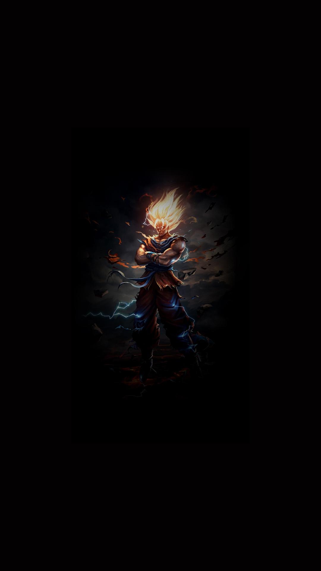 Badass Wallpapers For Android 33 0f 40 - Son Goku Dragon ...
