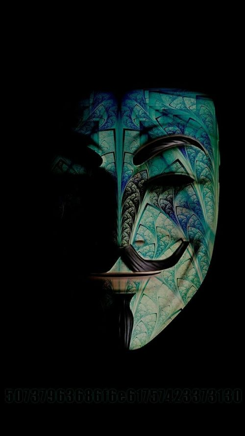 Badass Wallpapers For Android 38 0f 40 - Custom Anonymous Mask