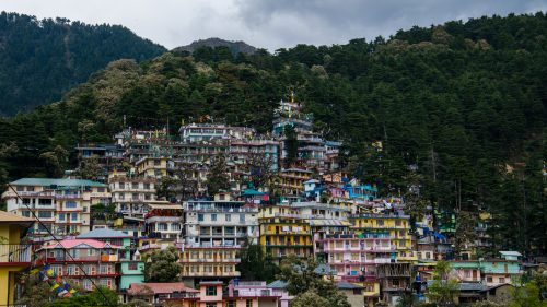 Dharamshala City Picture in High Resolution - India Tourism Destinations