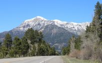 Full HD Nature Wallpaper with San Juan Mountains View From Pagosa Springs