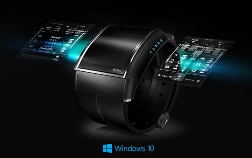 Windows 10 Wallpaper Clock