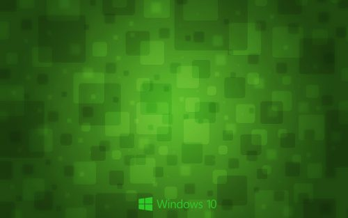 Windows 10 Wallpaper Green