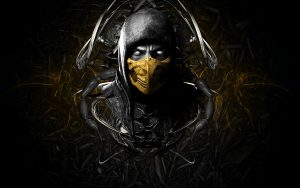 Artistic Images Of Scorpion From Mortal Kombat