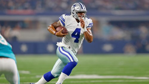 Dallas Cowboys Free Wallpaper Download with Dak Prescott Photo