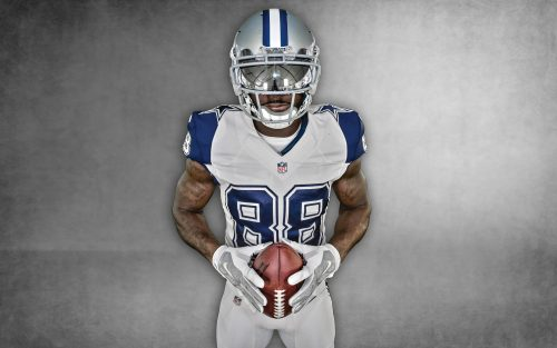 Dallas Cowboys Free Wallpaper Download with Nike Color Rush Uniform