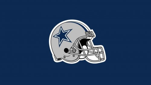 Dallas Cowboys Free Wallpaper Download with Team Helmet Picture
