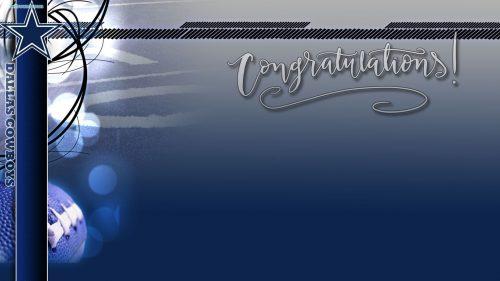 Dallas Cowboys Wallpaper Border 04 of 10 for Congratulation Card Design