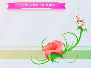 Free Congratulations Images for Card Design