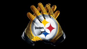 Free Pittsburgh Steelers Wallpaper with Gloves