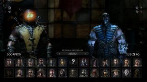 Images Of Scorpion vs Sub-Zero From Mortal Kombat X