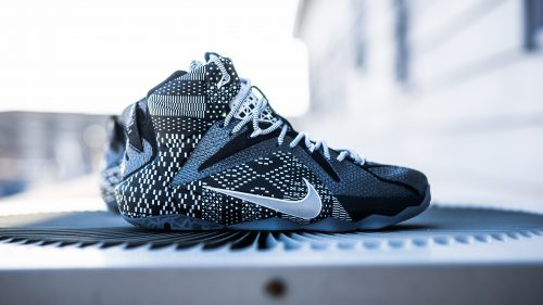 "LeBron James Shoes Wallpaper with Nike LeBron 12 BHM ""Black History Month"""