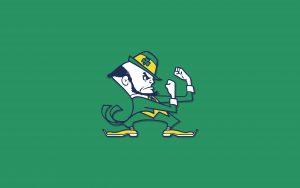 Notre Dame Fighting Irish Wallpaper - The Leprechaun Logo