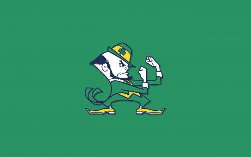 Notre Dame Fighting Irish Wallpaper - The Leprechaun Logo