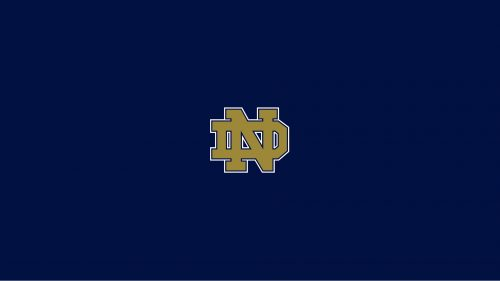 Notre Dame Fighting Irish Wallpaper with Official Logo