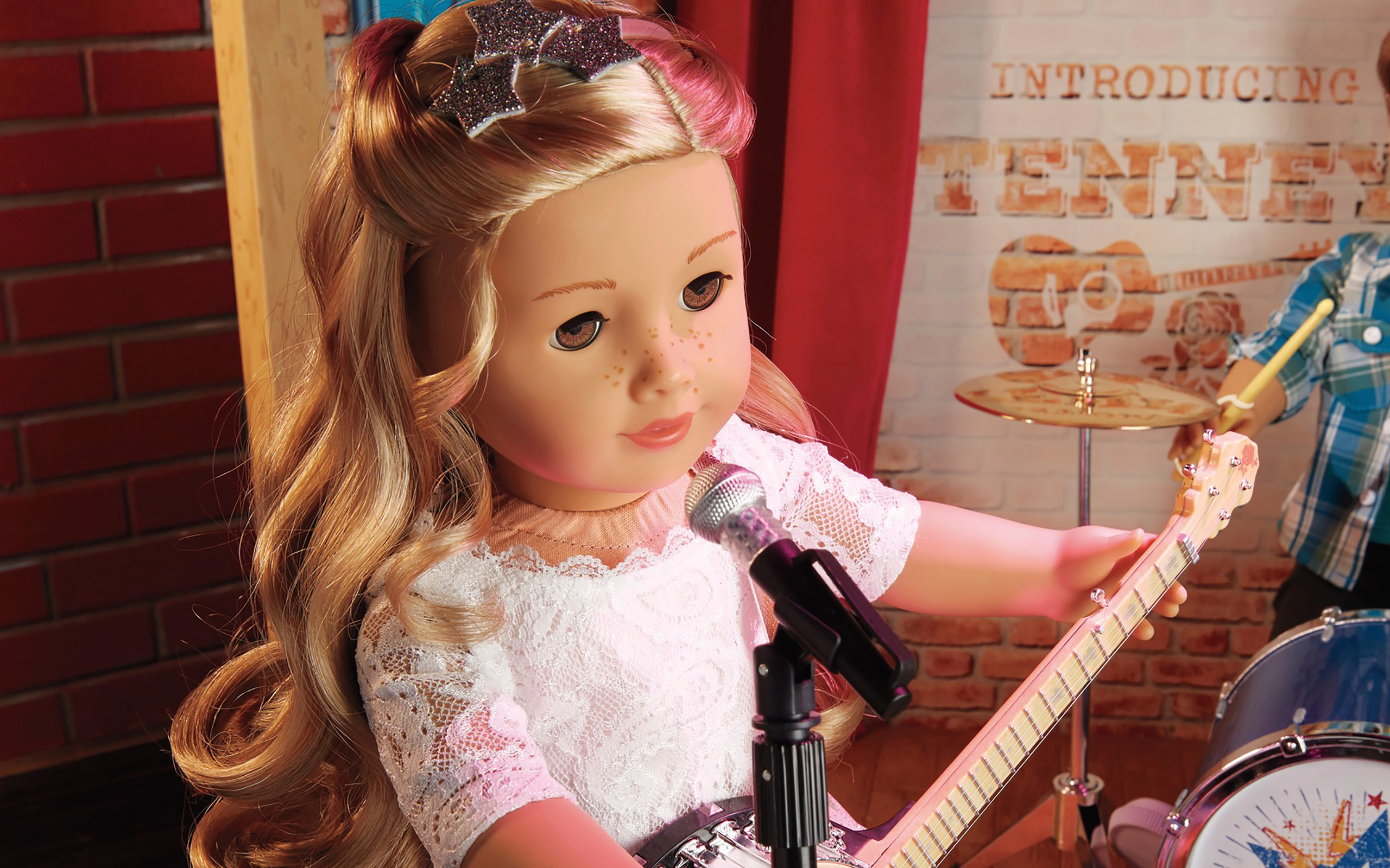 pictures of american girl dolls with tenney hd