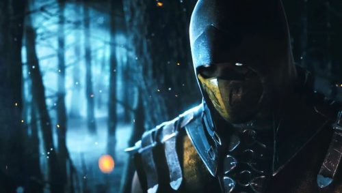 Scorpion Mortal Kombat Pictures in Close Up with HD Resolution