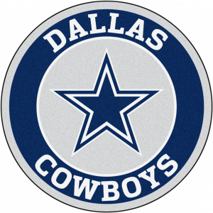 Dallas Cowboys Rounded PNG Logo Wallpaper