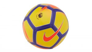 Pics of Soccer Balls with Nike Pitch 2017-18 Hi-Vis Premier League Ball for Winter