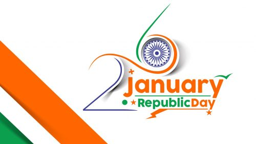 26 January Republic Day Background in HD Quality